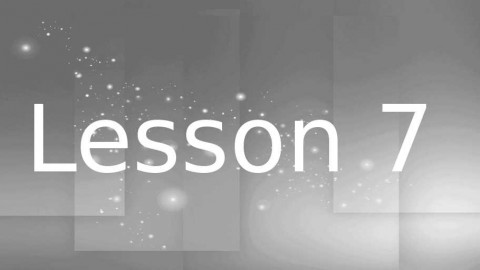 2013 SGL Training Lesson 7 – Fellowship